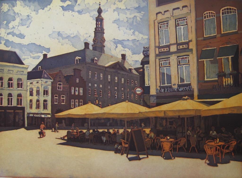 kleurets van Den Bosch door Marcel Schellekens
