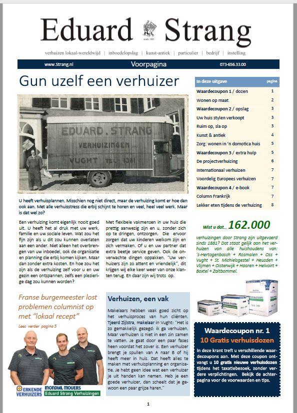 Eduard Strang Krant Den Bosch